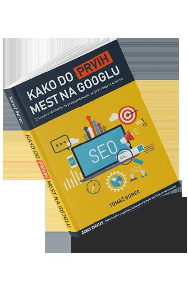 knjiga kako do prvih mest na googlu