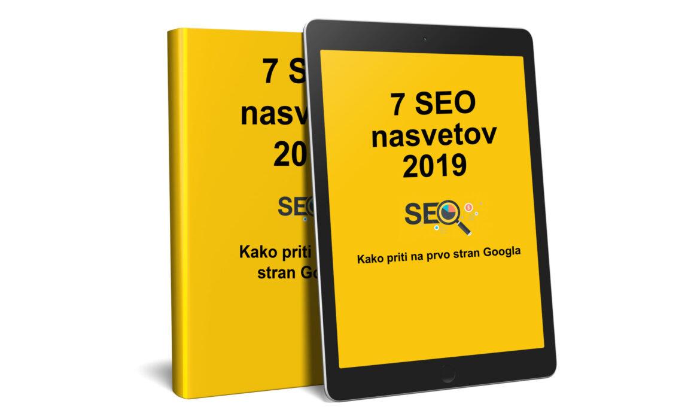 Brezplačna e-knjiga: Optimizacija spletnih strani 2019